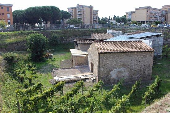 Boscoreale, Italia: Villa Regina (em manutenção)