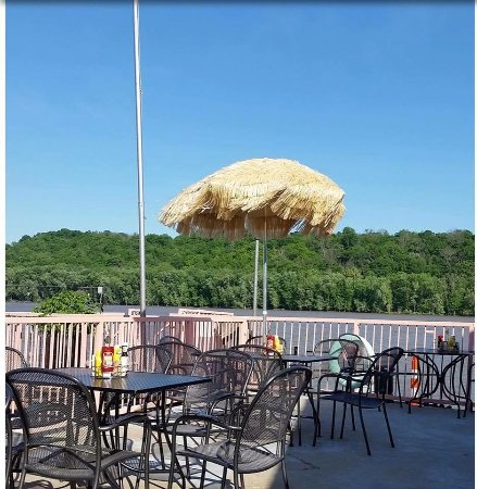 Lawrenceburg, IN: On the Deck