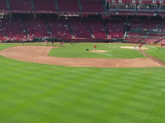 Bloomington, IN: A view of the field at Great American Ball Park.