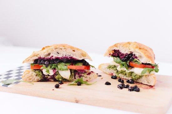 Richardson, TX: Blueberry Pesto Sandwich