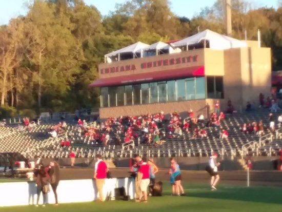 Bloomington, IN: The stands at Armstrong Stadium.