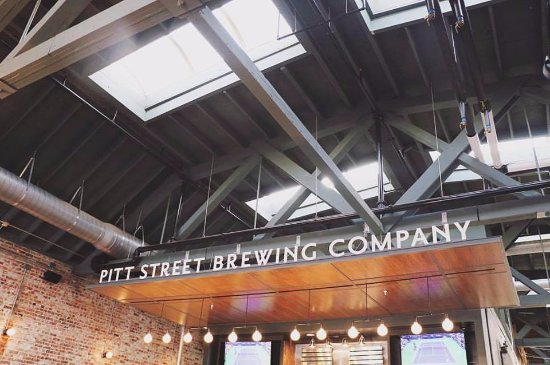 ‪‪Greenville‬, ‪North Carolina‬: Pitt Street Brewing Company in Uptown Greenville, NC‬