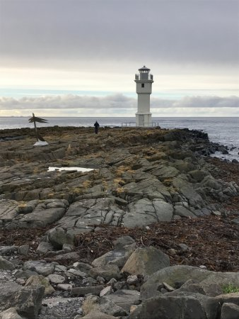 Akranes, Islandia: Lighthouse on the point