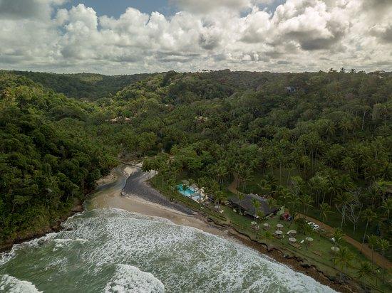 Itacarezinho Beach: Vista aérea da praia