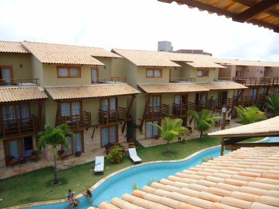 Praia Bonita Resort & Convention: Vista dos apartamentos.