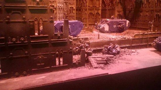 Games Workshop Warhammer World: Bikers, small part of massive diorama