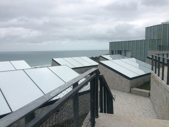 Tate Gallery St. Ives: Roof of new extension