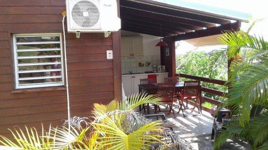Ti'Village Créole : Cuisine ,et lieu des repas
