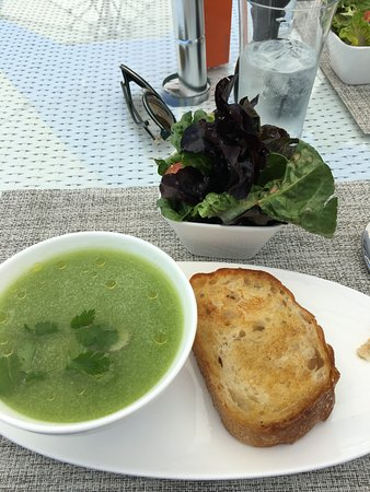 The London West Hollywood at Beverly Hills: Gaspacho soup