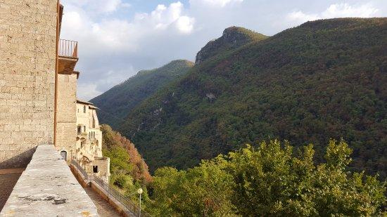 Subiaco, Itália: panorama
