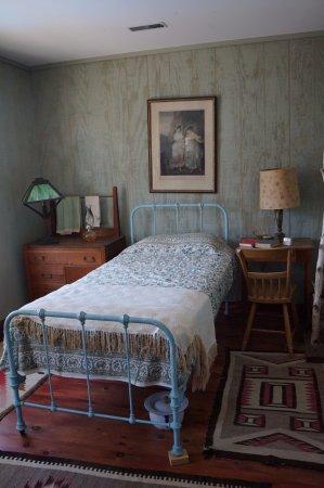 Gananoque, Canadá: Arthur Child Heritage Museum (chambre à coucher)