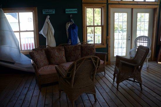 Gananoque, Canadá: Arthur Child Heritage Museum 'salon)