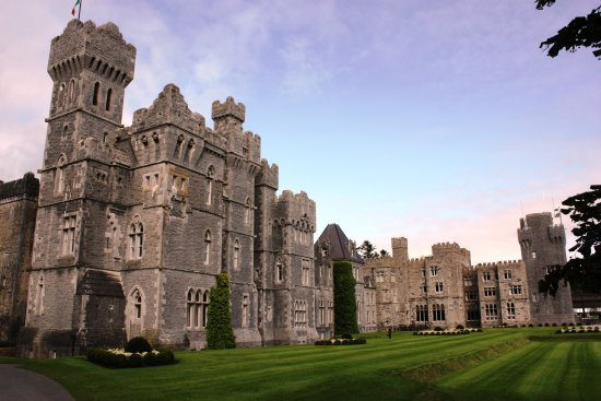 Ashford Castle: Looking towards Castle from Gardens