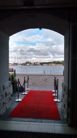 Nacka, Suède : Vista desde el hotel