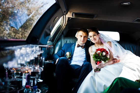 Newark, Nueva Jersey: Wedding limo