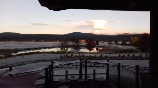 Sunriver, OR: View from dinning room