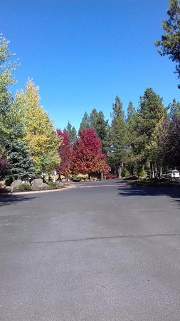 Sunriver, OR: At the parking lot
