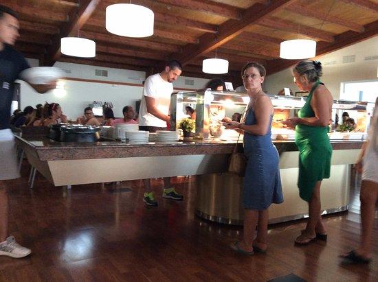 Carabela Beach & Golf Hotel: Comedor