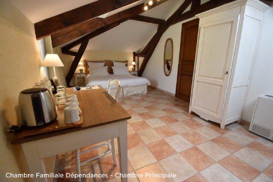 Saint-Vincent-de-Cosse, Francia: Chambre Familiale dans les Dépendances, chambre principale