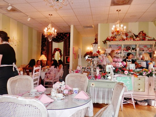 Pleasanton, CA: Tea Room