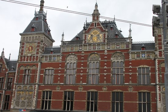 Photo of Station Amsterdam Centraal in Amsterdam, No, NL