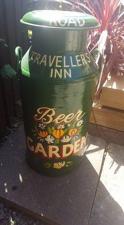 Dodworth, UK: Beer garden open year round!