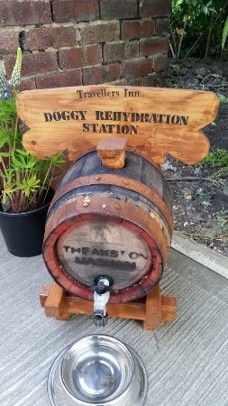 Dodworth, UK: Stop off for some rehydration with your pooches in our beer garden!