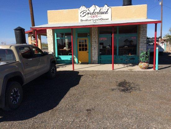 Columbus, Nuevo Mexico: Borderland Cafe