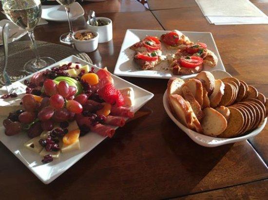 Yreka, CA: Meat & Cheese Plate, Flatbread