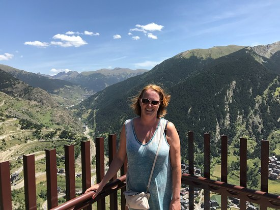 Ordino, Andorra: Wat een lef!