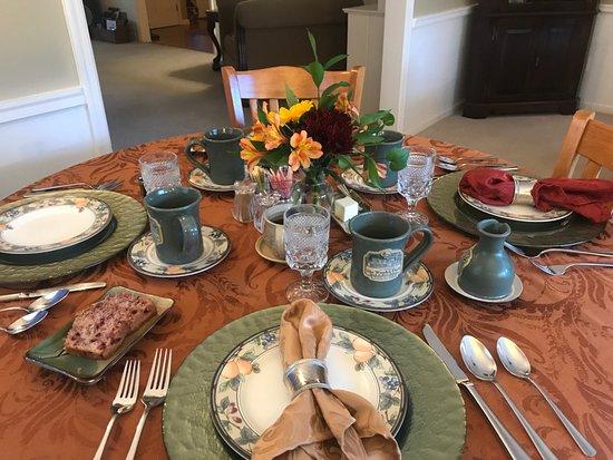 Newton, Nueva Jersey: breakfast table
