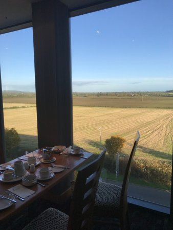 Carlow, Ireland: View from breakfast room [fourth floor]