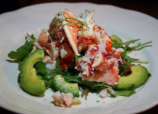 Howth, ไอร์แลนด์: Poached Lobster Salad