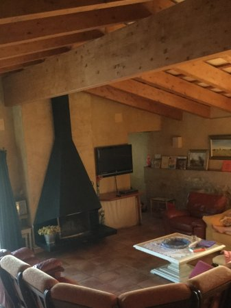 Vilanant, Hiszpania: View of our living room.