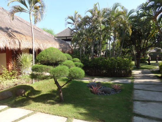 Taman Sari Bali Resort & Spa : jardin