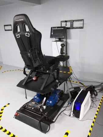 Space Flight Simulator - Picture of Hubneo VR Lab, New York City