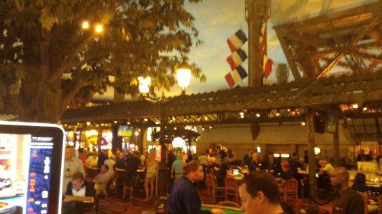 Paris Las Vegas: Cassino interno