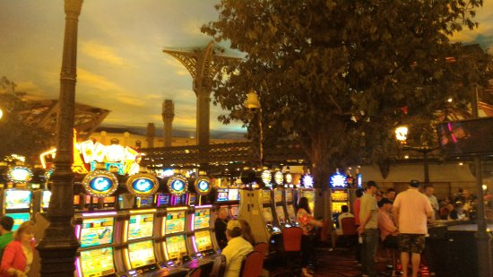 Paris Las Vegas Hotel & Casino: Cassino interno