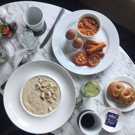 The Westin Kuala Lumpur: breakfast in room