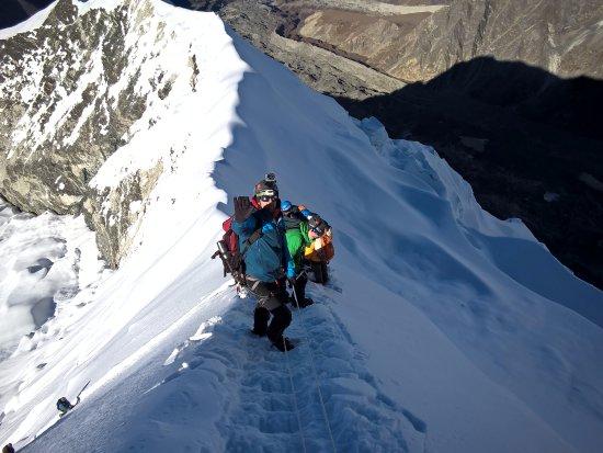 Bagmati Zone, Nepal: final steps to Island Peak