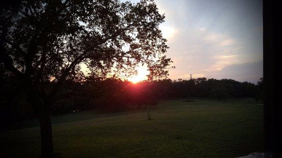 Comfort, TX: Wonderful sunsets every evening.