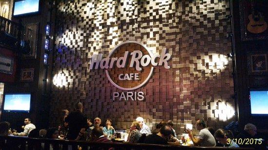 Hard Rock Cafe Paris: HRC en París