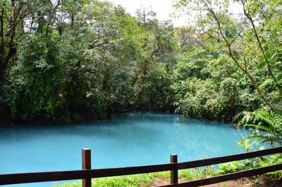 Tenorio Volcano National Park, Costa Rica: Blue lake