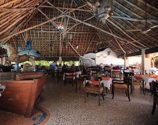 Casa Del Mar Cozumel Hotel & Dive Resort: Rstaurant área