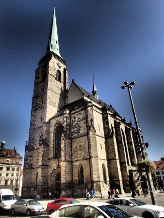 Plzeň, Česká republika: Church