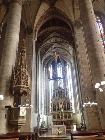 Plzeň, Česká republika: A photo from inside the church