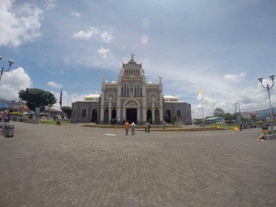 Blick vom zentralen Platz in Cartago