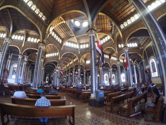 Cartago, Costa Rica: Blick vom Eingang