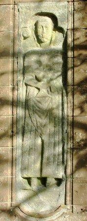 Shiskine, UK: Belle pierre tombale