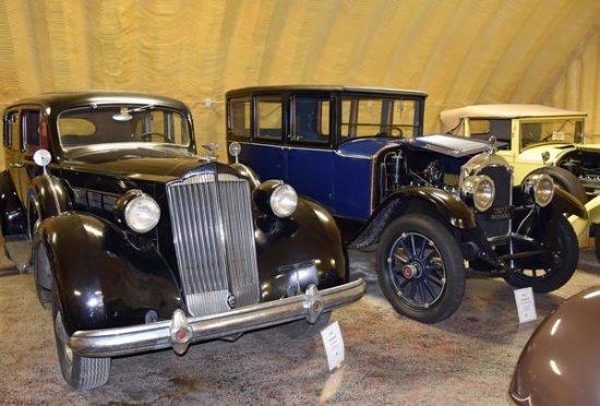 Afton, OK: Restored Packards